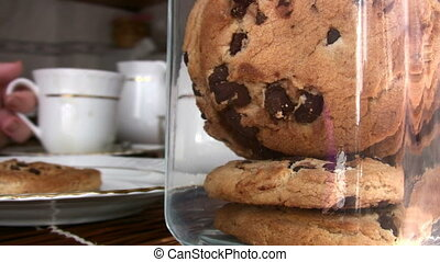 Yummy Chocolate chip cookies Full - Coffee with Chocolate...
