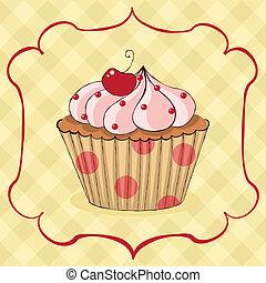 yummy, cupcake