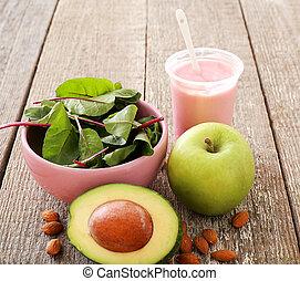 Yummy food - Healthy food on the table