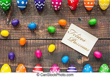 Yummy, huevos, Pascua