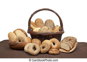 yummy set of bread