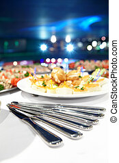 Yummy - Close up of dishes on a restaurant table
