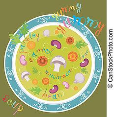 Yummy yummy soup