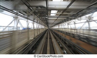 Yurikamome line an automated guideway transit service...
