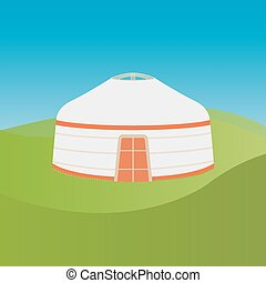 yurt, από , νομάδα