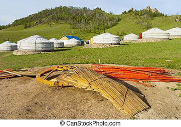 yurt, コンポーネント