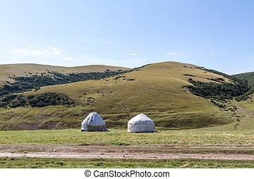yurt, 山