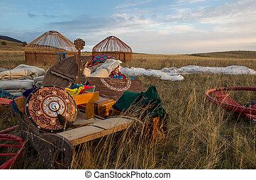 yurt, kazakh