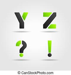 YZ green