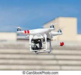 zángano, quadrocopter