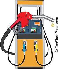 zásobit se palivem vyzvídat