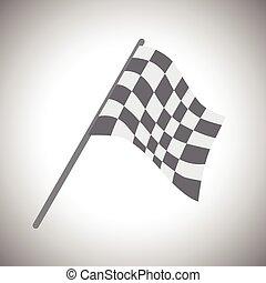 zászlók, tarka, .vector