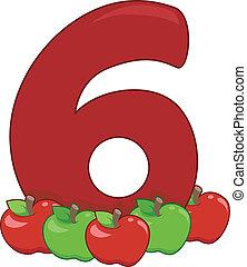 zählen 6