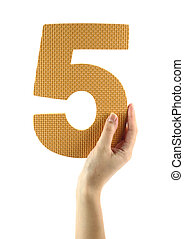 zählen fünf