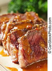 zärtlich, rindfleisch