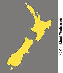 Carte Nouvelle Zelande Dessin.Zelande Carte Nouveau Zelande Carte Presentation