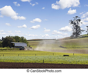 zélande, nouveau, agriculture
