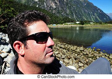 zélande, nouveau, fiordland