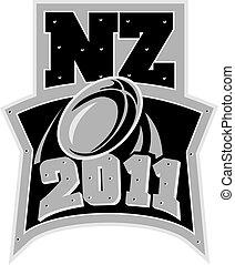 zélande, nouveau, rugby, 2011