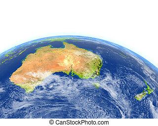 zélande, planète, australie, nouveau, la terre
