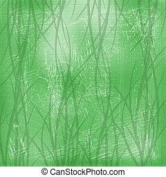 zöld absztrahál, háttér, noha, növényi, virágos, díszítés