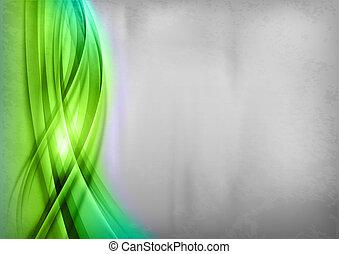 zöld absztrahál