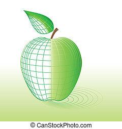 zöld alma, kibernetikai