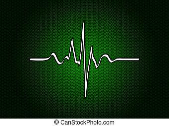 zöld, cardio