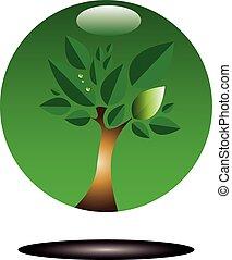 zöld fa