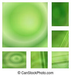 zöld, gradiens, elvont, háttér, tervezés, állhatatos