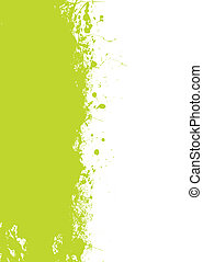 zöld, grunge, locsogás
