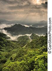zöld hegy