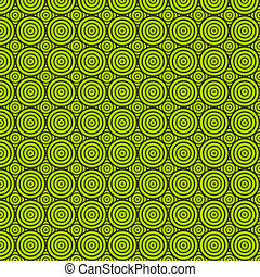 zöld, karika, struktúra