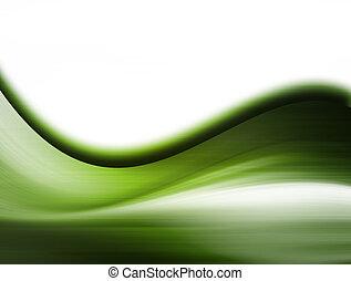 zöld, lenget