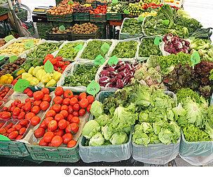 zöld piac