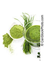 zöld, superfood.