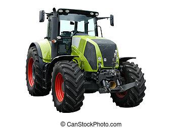 zöld, traktor