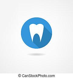 ząb, ikona