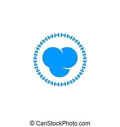 ząb, projektować, logo