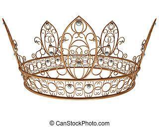 złota korona, królewski