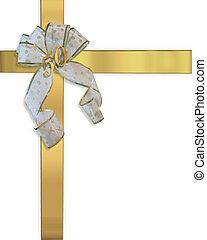 złoty, 50th, rocznica, zaproszenie