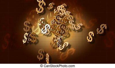 złoty, dolar znaczy
