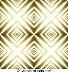 złoty, krzyże, świąteczny, tło, pasiasty, lustrzany