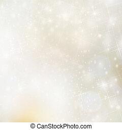 złoty, plama, boże narodzenie, tło, światła