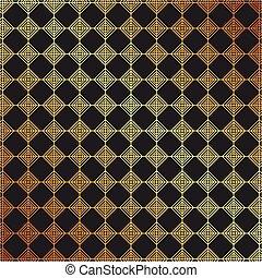 złoty, styl, próbka, metaliczny, elegancki, luksus, tło, geometryczny
