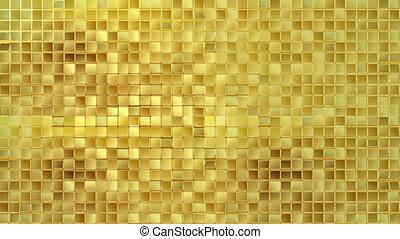 złoty, tło, pętla