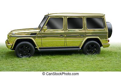złoty, wóz