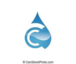zředit vodou poslat řádku, emblém, šablona
