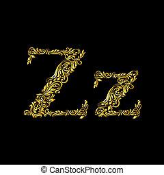 'z', 飾られる, 手紙