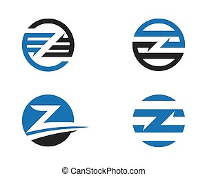 Z Letter Logo Business Template Vector icon